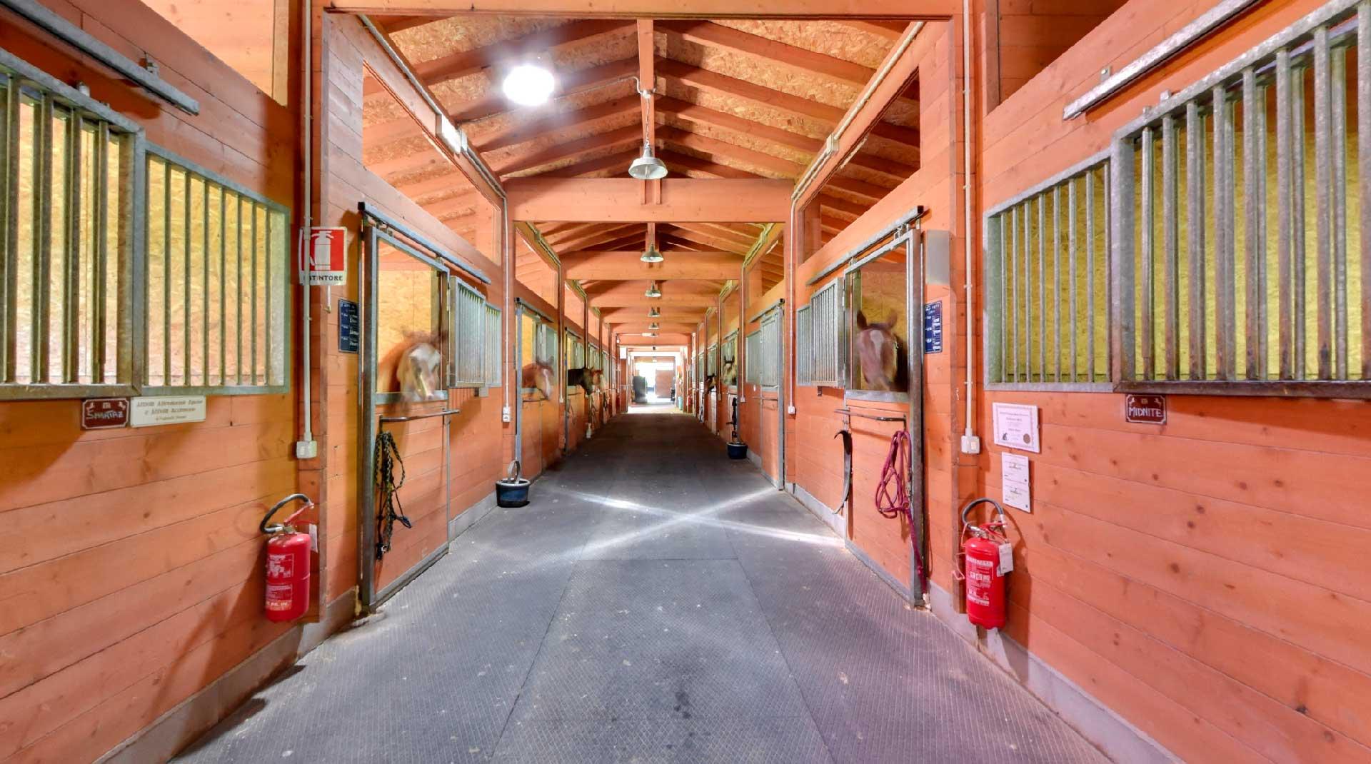 Residence La Frontiera, Sesta Godano, Pensione cavalli