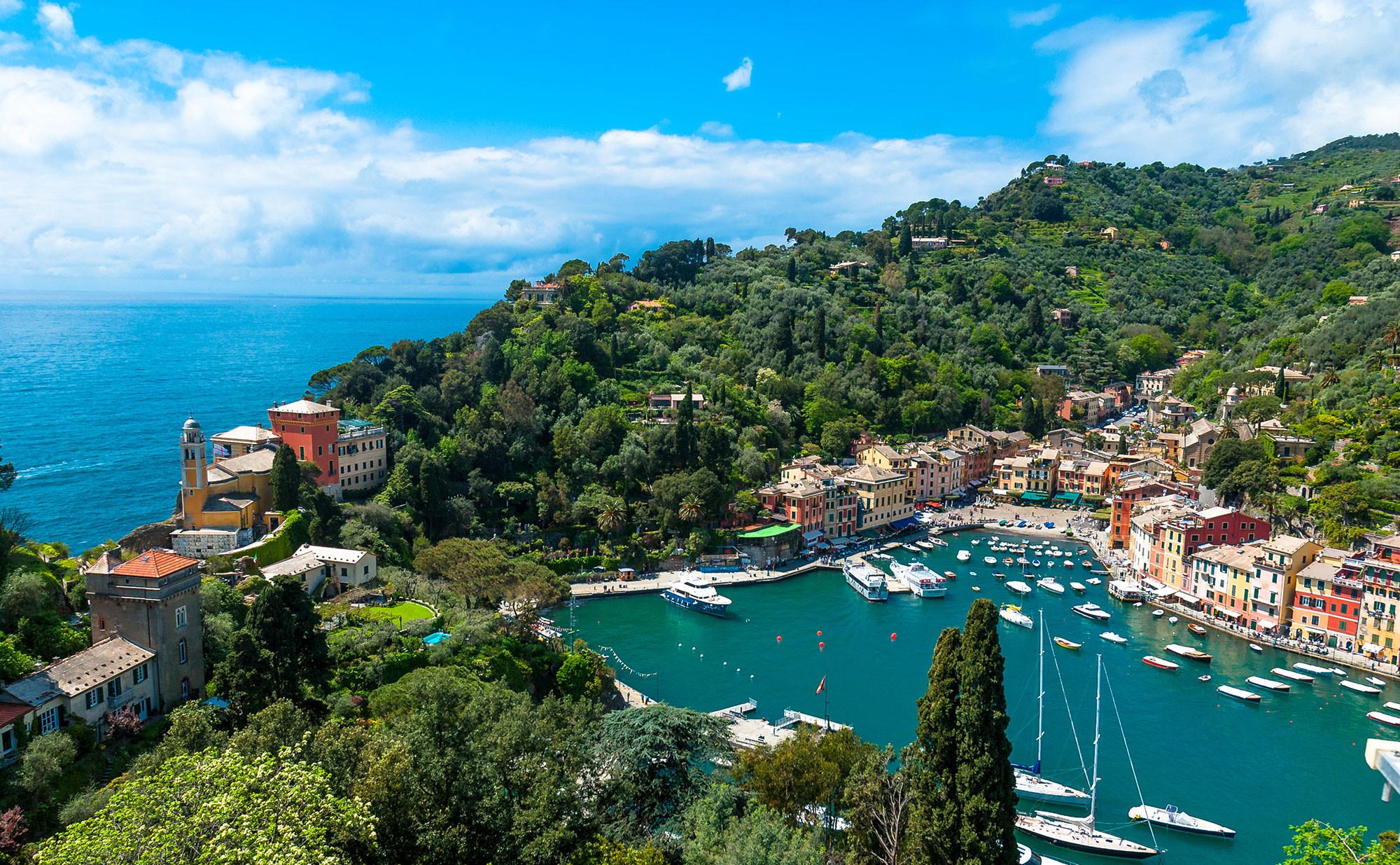 Portofino, Liguria, Residence la Frontiera